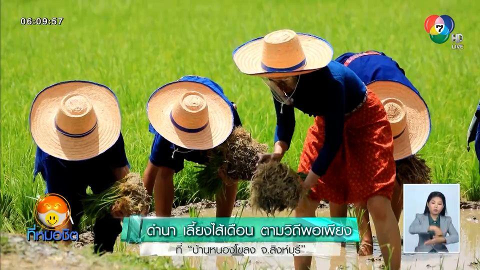 เช้านี้วิถีไทย : ดำนา เลี้ยงไส้เดือน ตามวิถีพอเพียง ที่บ้านหนองโขลง จ.สิงห์บุรี