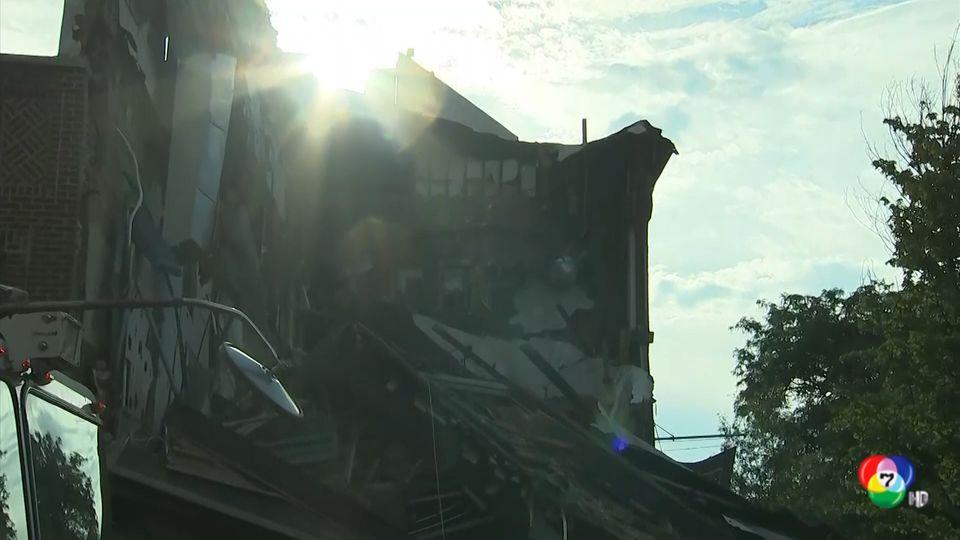 อาคารพังถล่มในสหรัฐฯ มีผู้ได้รับบาดเจ็บ 1 คน