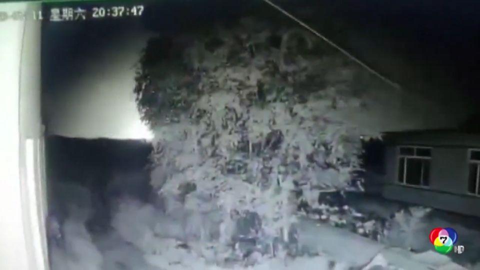 โรงบำบัดน้ำเสียของจีนระเบิด มีผู้ได้รับบาดเจ็บจำนวนมาก