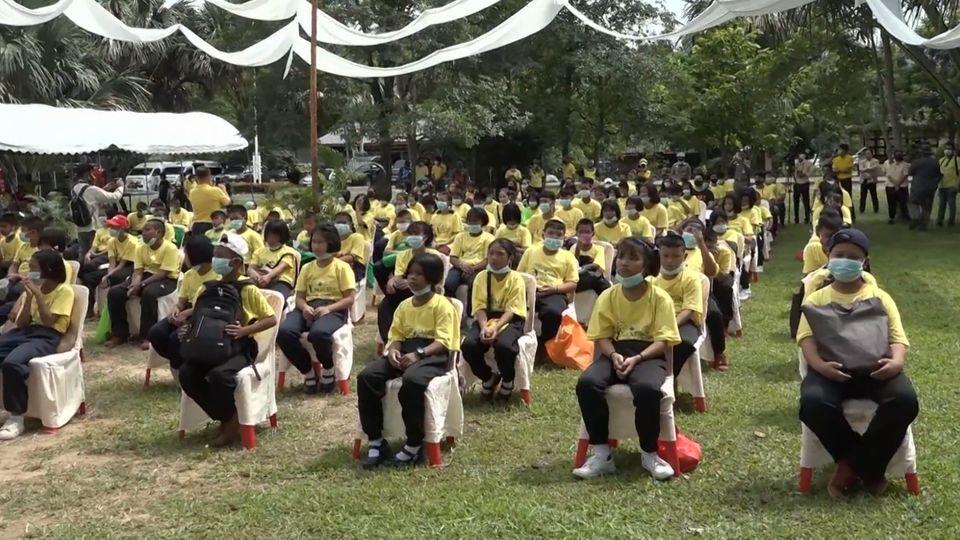 """ประธานองคมนตรี เปิดโครงการ """"เยาวชนจิตอาสา เพื่ออนุรักษ์ทรัพยากรธรรมชาติ Next Gen New World"""" เพื่อเฉลิมพระเกียรติพระบาทสมเด็จพระเจ้าอยู่หัว เนื่องในโอกาสวันเฉลิมพระชนมพรรษา 28 กรกฎาคม 2563"""