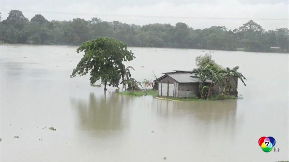 ยอดผู้เสียชีวิตน้ำท่วม-ดินถล่มในเนปาล เพิ่มเป็น 60 คน