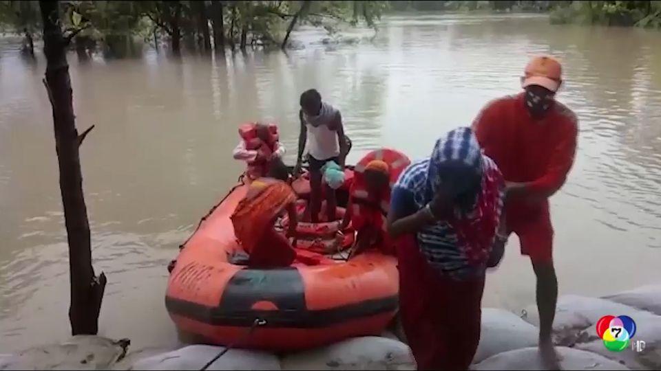 อินเดีย เร่งช่วยเหลือผู้ประสบภัยเหตุน้ำท่วม