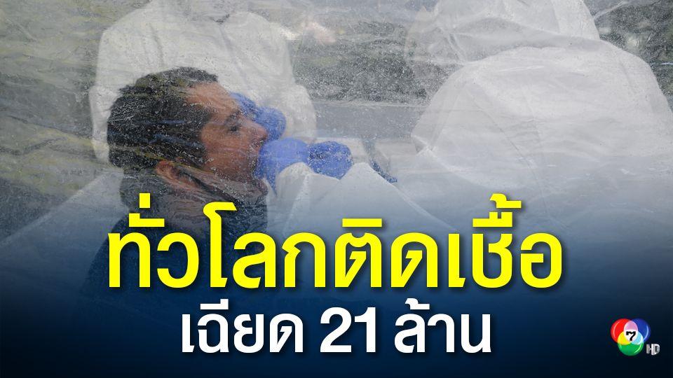 โลกอ่วม! ติดเชื้อโควิด-19 เฉียด 21 ล้าน รัสเซียเริ่มฉีดวัคซีนต้านโควิดในอีก 2 สัปดาห์