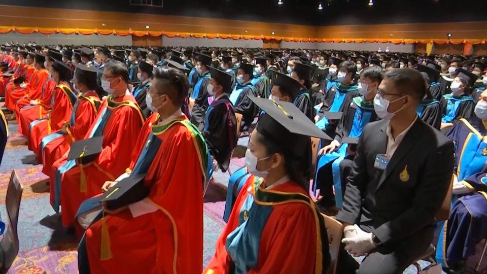 สมเด็จเจ้าฟ้าฯ กรมพระศรีสวางควัฒน วรขัตติยราชนารี เสด็จแทนพระองค์ไปในการพระราชทานปริญญาบัตรแก่ผู้สำเร็จการศึกษาจากมหาวิทยาลัยสงขลานครินทร์ ประจำปีการศึกษา 2562 ระหว่างวันที่ 11-13 กันยายน 2563