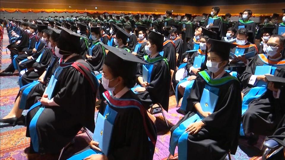 สมเด็จเจ้าฟ้าฯ กรมพระศรีสวางควัฒน วรขัตติยราชนารี พระราชทานปริญญาบัตรแก่ผู้สำเร็จการศึกษาจากมหาวิทยาลัยสงขลานครินทร์ ประจำปีการศึกษา 2562 เป็นวันสุดท้าย
