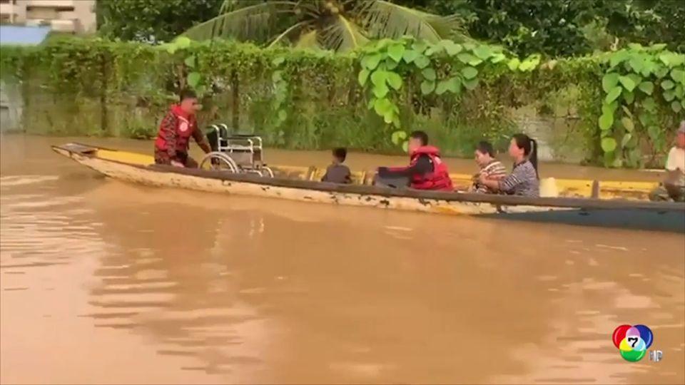 มาเลเซียอพยพคนหนีน้ำท่วมหนัก
