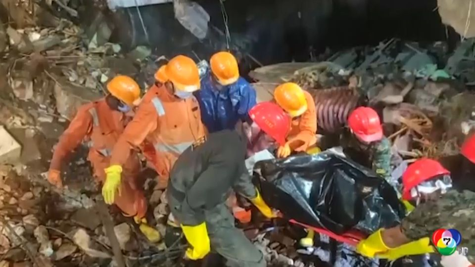 ยอดผู้เสียชีวิตจากเหตุอาคารถล่มในอินเดีย ทะลุ 39 คนแล้ว