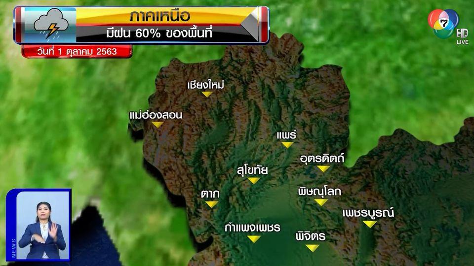 ฝนฟ้าอากาศ 30 ก.ย.63