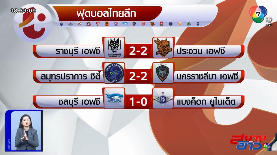 บีจี ปทุมฯ ได้จุดโทษท้ายเกม พลิกแซง ระยอง เอฟซี 2-1 รั้งจ่าฝูงศึกไทยลีก