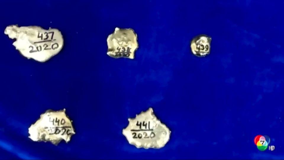 อินเดียตรวจยึดทองคำมูลค่าเกือบ 7 ล้านบาท จากผู้โดยสารที่มาจากดูไบ