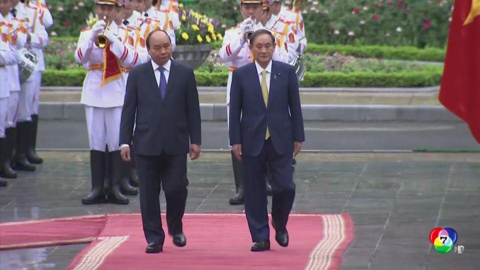 ผู้นำญี่ปุ่น เดินทางเยือนต่างประเทศเป็นครั้งแรก หลังรับตำแหน่ง