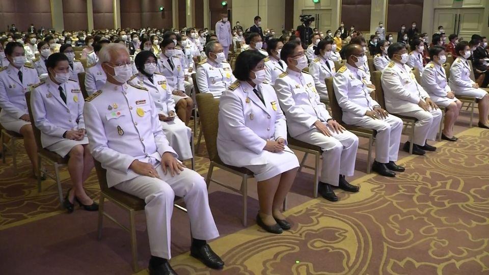 พลเอก หม่อมเจ้าเฉลิมศึก ยุคล เสด็จแทนพระองค์ไปประทานโล่เกียรติคุณ เนื่องในโอกาสวันสังคมสงเคราะห์แห่งชาติและวันอาสาสมัครไทย ประจำปี 2563