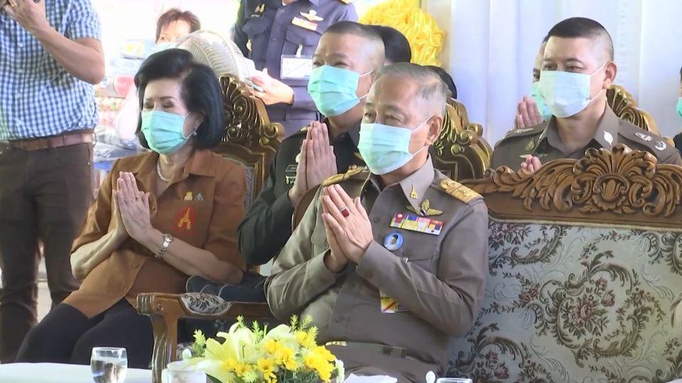 องคมนตรี เป็นประธานเปิดโครงการพระดาบสสัญจร ที่จังหวัดกาญจนบุรี