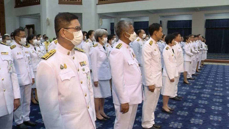 พันโท หม่อมเจ้านวพรรษ์ ยุคล เสด็จลงแทนพระองค์ในการประทานโล่รางวัลในการจัดการประชุมวิชาการระดับชาติและนานาชาติ ราชภัฏวิจัย ครั้งที่ 6 ราชภัฏ ราชภักดิ์