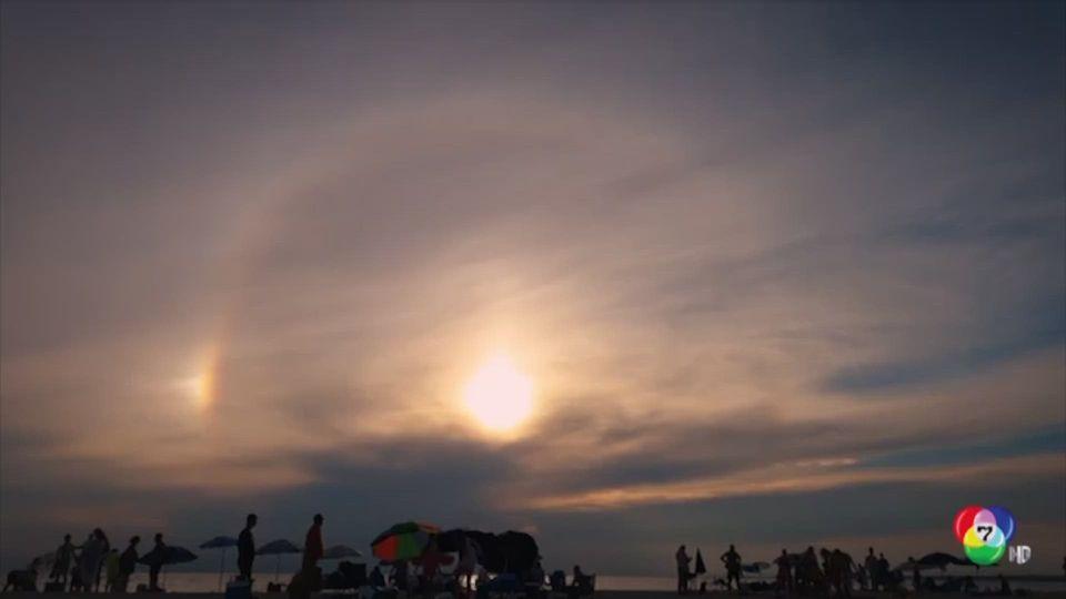 ปรากฏการณ์พระอาทิตย์หลายดวงในกรีซ