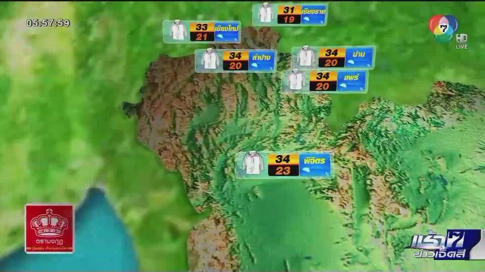 พยากรณ์อากาศวันนี้ 26 พฤศจิกายน 2563