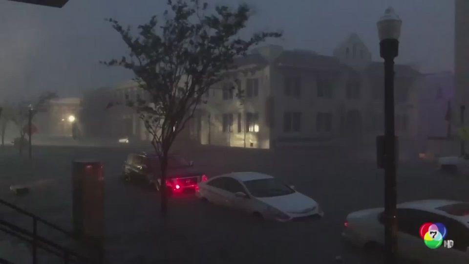 พายุเฮอริเคน แซลลี เคลื่อนขึ้นฝั่งของสหรัฐฯ แล้ว