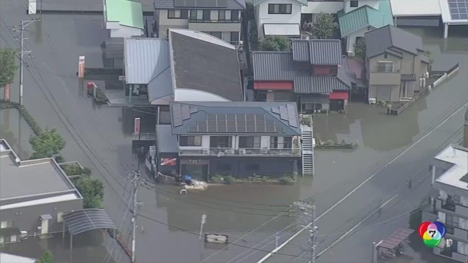 เหตุน้ำท่วม-ดินถล่มในญี่ปุ่นสังเวยแล้ว 59 ชีวิต อุตุฯ ออกเตือนอาจมีฝนฟ้าคะนองยาวถึงเสาร์นี้