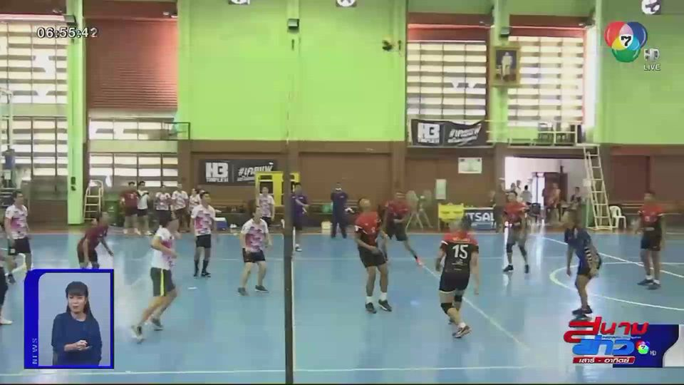 วอลเลย์บอลกระชับมิตร ชมรมวอลเลย์บอล ช่อง 7HD พบราชนาวี