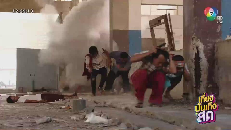 ละคร ล่า ท้า ชน กับฉากบู๊ที่จัดเต็มทั้งระเบิด-กระสุน