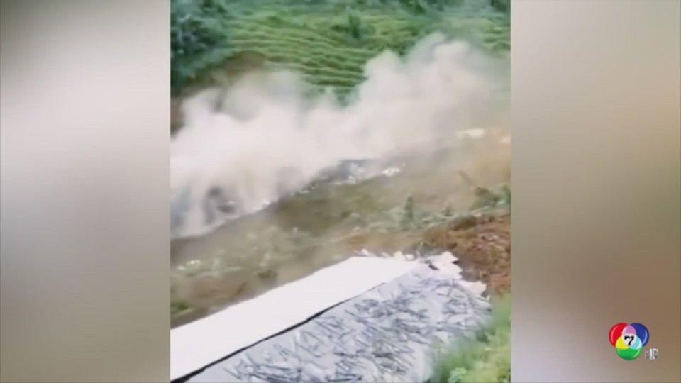 เกิดดินถล่ม-น้ำท่วมทั่วเนปาล เหตุฝนตกหนัก