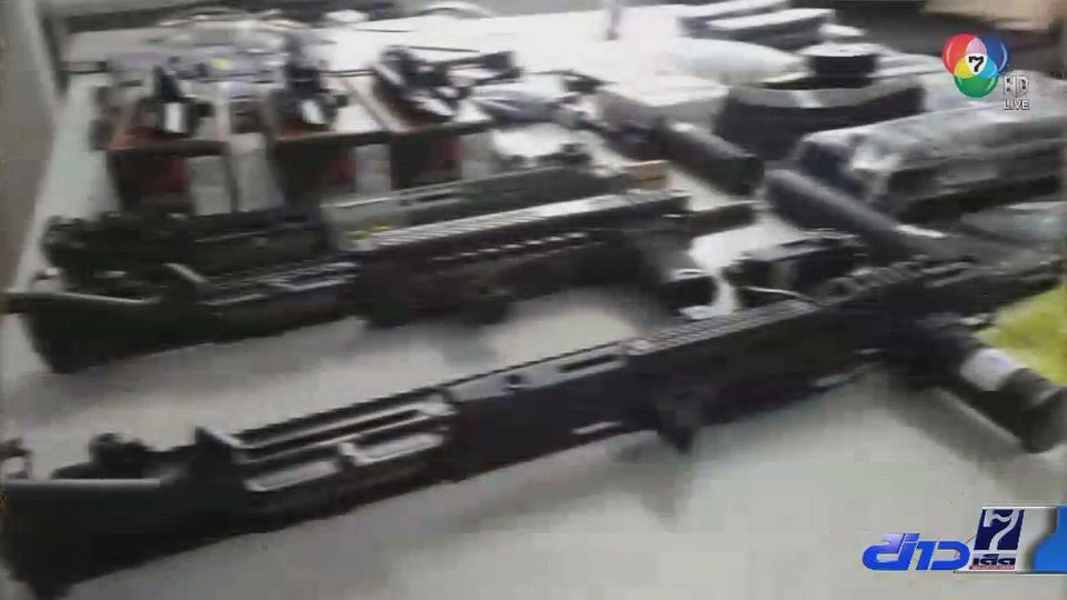จับหนุ่มเปิดเพจค้าชิ้นส่วนอาวุธปืน