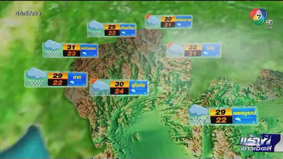 พยากรณ์อากาศวันนี้ 27 ตุลาคม 2563