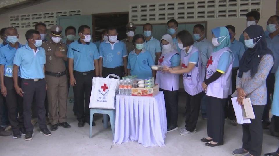 ผู้ว่าราชการจังหวัดนราธิวาส เป็นประธานในพิธีปิด ครัวพระราชทาน อุปนายิกาผู้อำนวยการสภากาชาดไทย