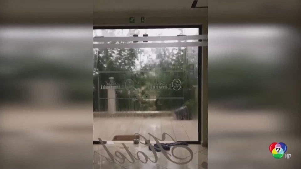 คืบหน้าพายุไซโคลนลานอส พัดถล่มกรีซ - น้ำท่วมฝรั่งเศส
