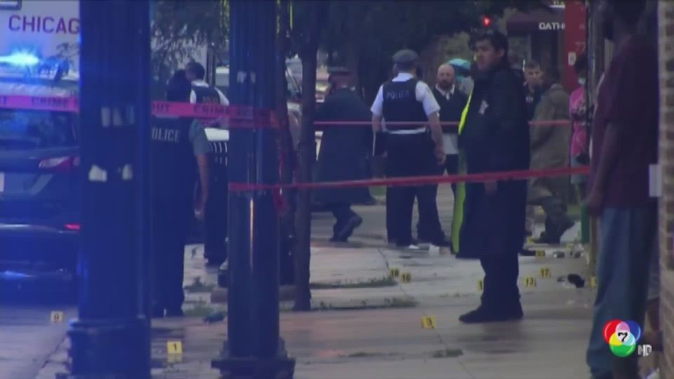 เร่งหาคนร้ายกราดยิงหน้างานศพในสหรัฐฯ