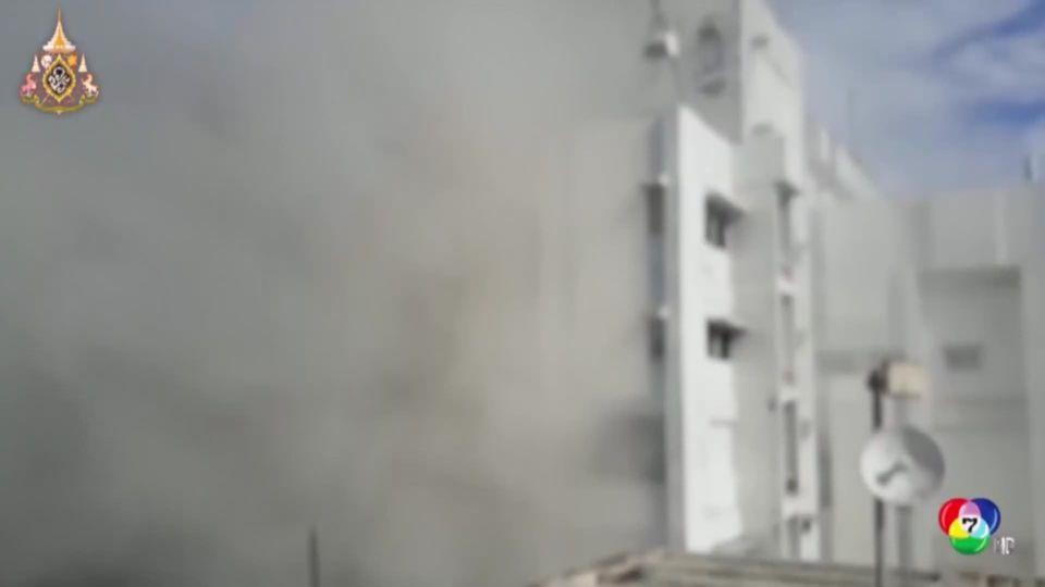 เพลิงไหม้อาคารรัฐบาลในอินเดีย จนท.กว่า 200 นาย เร่งควบคุมเพลิง