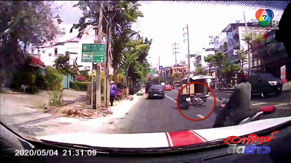 แชร์กันสนั่นเมือง : รถกู้ชีพทำผู้ป่วยหล่นจากรถ