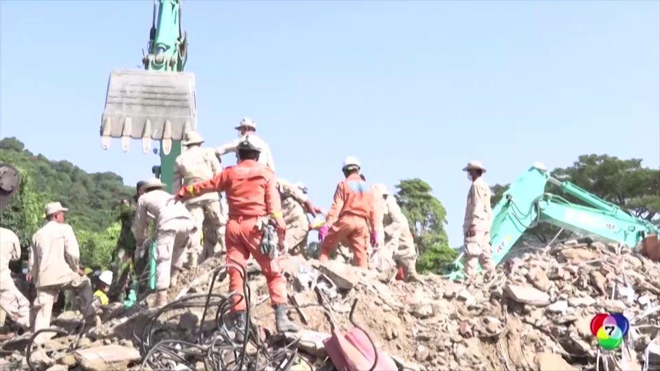 กัมพูชายุติการค้นหาผู้ติดใต้ซากอาคารถล่ม ยอดผู้เสียชีวิต 36 คน
