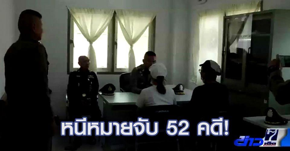 หนีไม่รอด! รวบ 2 สามีภรรยาหนีหมายจับคดียักยอกทรัพย์ 52 คดี