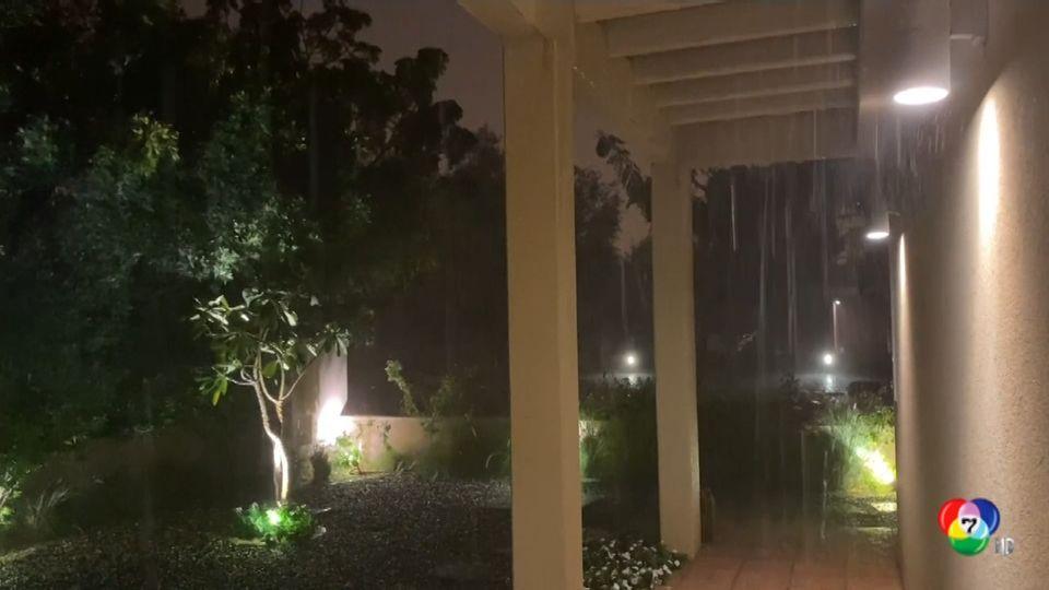 พายุลูกเห็บพัดถล่มสหรัฐอาหรับเอมิเรตส์