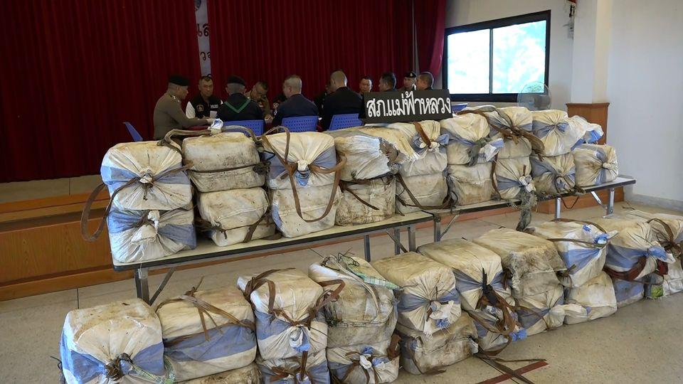 ตำรวจ-ทหารเชียงรายจับอีก ยาบ้า 7.9 ล้านเม็ด คนร้าย หนีตามระเบียบ
