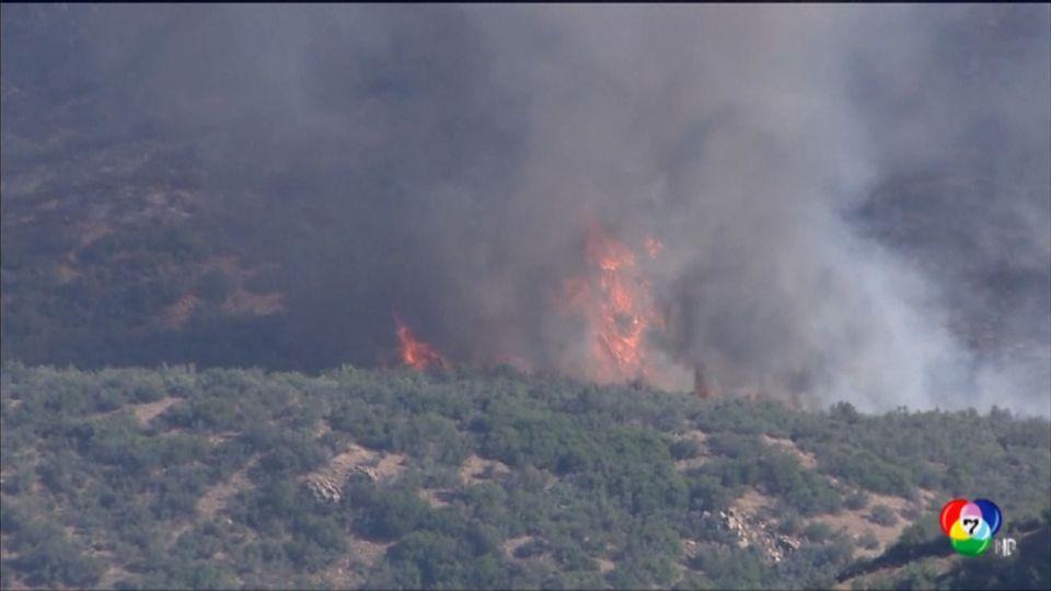 เกิดเหตุไฟป่าลุกลามทั่วรัฐแอริโซนา ในสหรัฐฯ