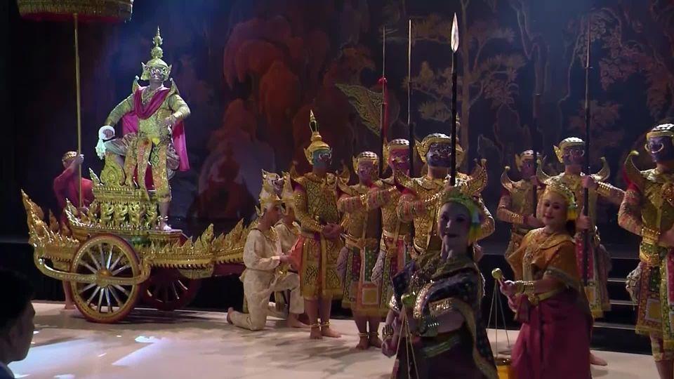 มูลนิธิส่งเสริมศิลปาชีพ ในสมเด็จพระนางเจ้าสิริกิติ์ พระบรมราชินีนาถ จัดงานบูรพทัศน์ การแสดงโขนมูลนิธิส่งเสริมศิลปาชีพฯ 2562