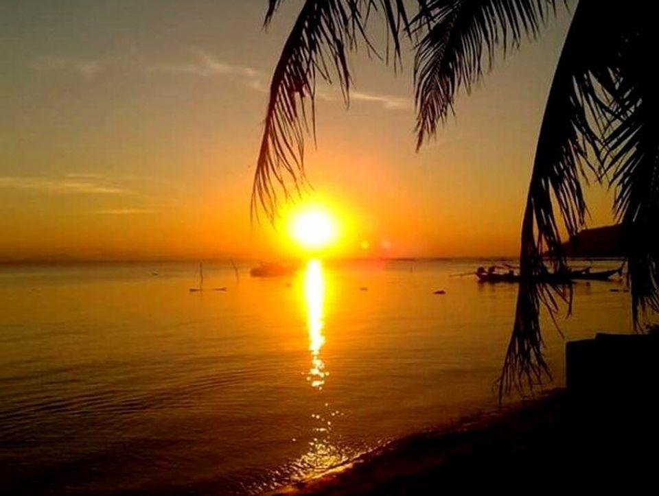ดวงอาทิตย์อ่าวท้องกรูด..เกาะสมุย