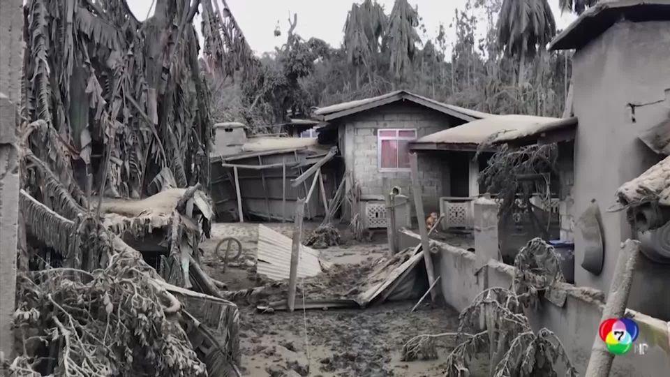 ฟิลิปปินส์ จัดสรรงบประมาณช่วยเหลือเหตุภูเขาไฟปะทุ