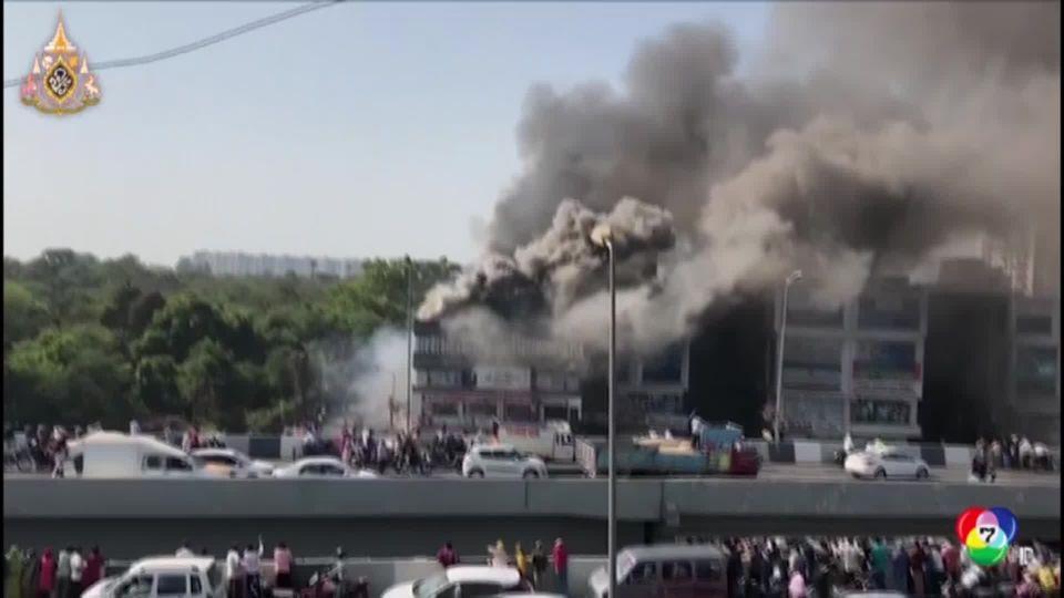 เพลิงไหม้อาคารพาณิชย์ในอินเดีย ดับ 17 ศพ