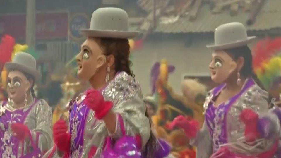 สีสันเทศกาลคาร์นิวัลประจำปีสุดยิ่งใหญ่ ของประเทศโบลิเวีย