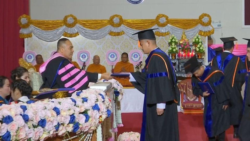พลเอก กัมปนาท รุดดิษฐ์ องคมนตรี เป็นประธานในพิธีประสาทปริญญาบัตรแก่ผู้สำเร็จการศึกษาจากมหาวิทยาลัยปทุมธานี ประจำปีการศึกษา 2560-2562