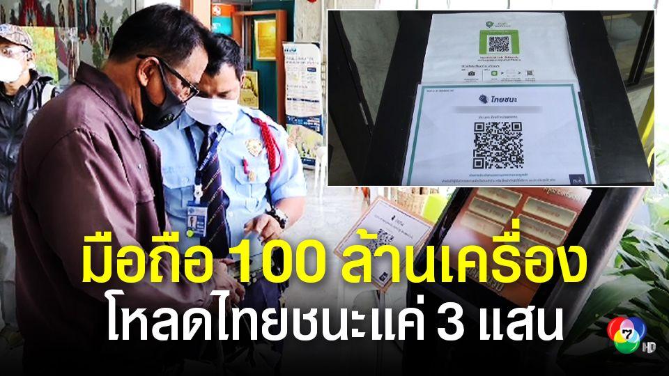 เป็นศูนย์ 21 วัน อย่าเพิ่งวางใจ ชวนดาวน์โหลดแอปฯไทยชนะ