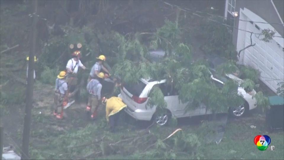 พายุทอร์นาโด คริสโตบัล พัดถล่มรัฐฟลอริดา