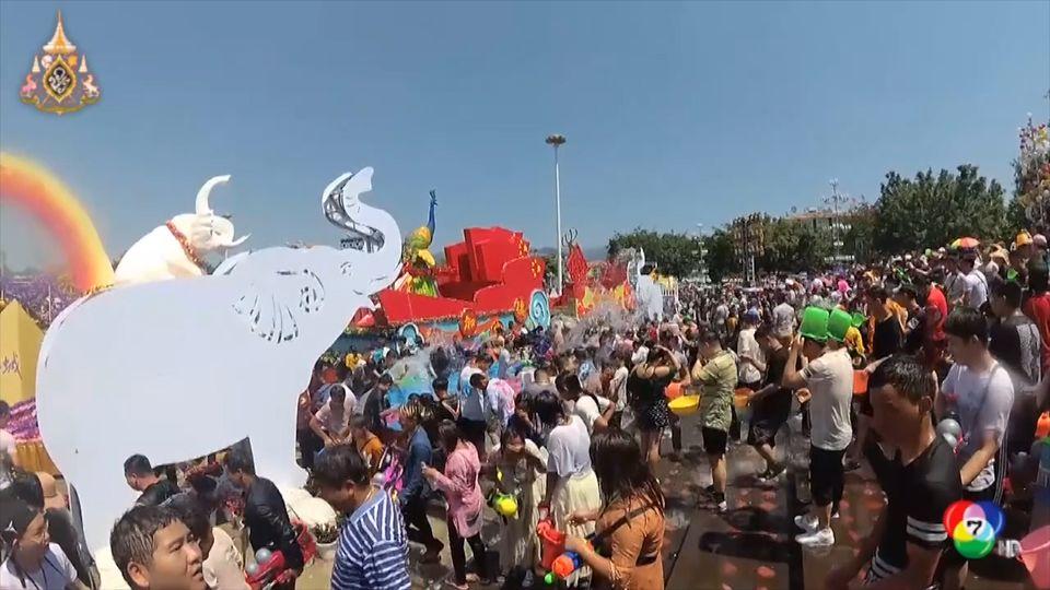 ชาวไทในจีน ร่วมเฉลิมฉลองเทศกาลสงกรานต์