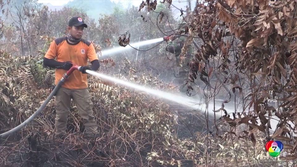 ประธานาธิบดี อินโดนีเซีย รู้สึกอับอายจากเหตุไฟป่า