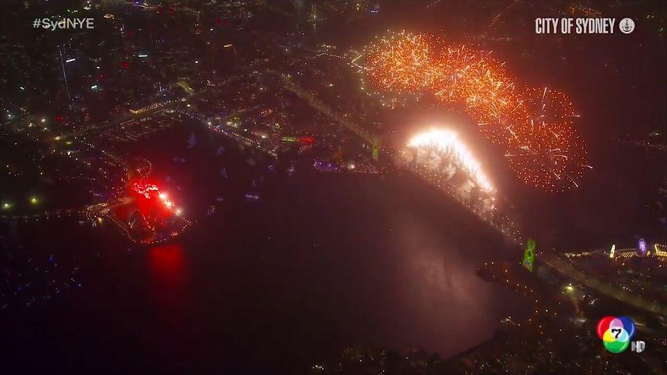 รวมภาพบรรยากาศเฉลิมฉลองปีใหม่ 2020 ในต่างประเทศ แสงสีเสียงอลังการ