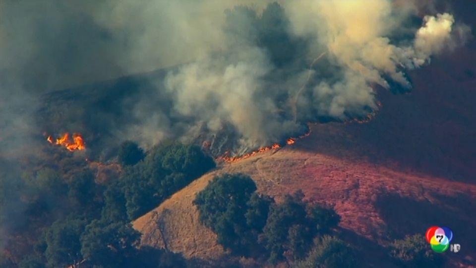 สหรัฐฯอพยพประชาชน 1 แสนคน หนีไฟป่า
