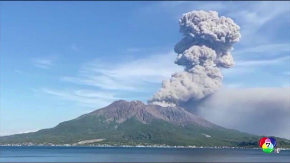 ภูเขาไฟปะทุหนักในญี่ปุ่น เตือน ปชช.ห้ามเข้าใกล้เพื่อความปลอดภัย
